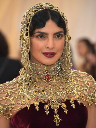 Priyanka Chopra attends the 2018 Met Gala in New York City. Picture: Getty