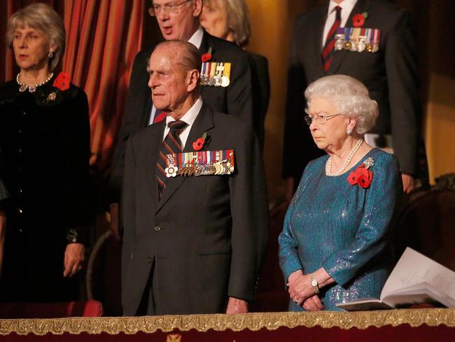 HRH Prince Philip, Duke of Edinburgh and HM Queen Elizabeth.