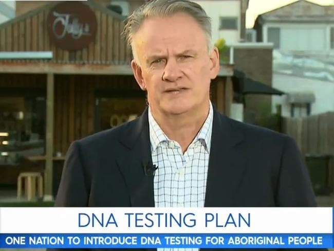 Mark Latham is doubling down on his DNA testing idea. Picture: Today