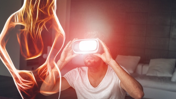 VR technology takes you on an immersive experience where you inhabit the body of a performer.