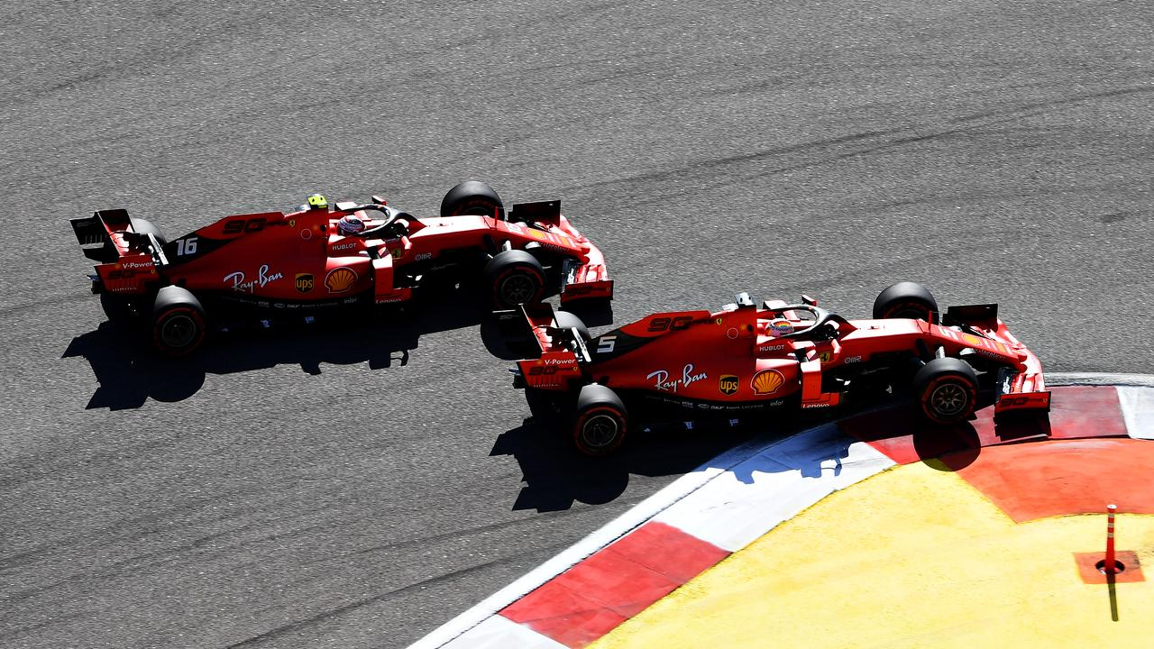 Vettel and Leclerc have been joined at the hip.