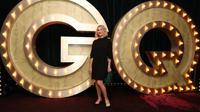 Hollywood megastar Naomi Watts attends the GQ Australia Men of The Year Awards. Picture: Getty Images