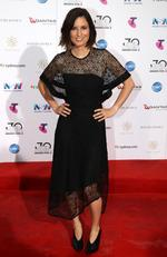 Missy Higgins arrives on the red carpet for the 30th Annual ARIA Awards 2016 at The Star on November 23, 2016 in Sydney, Australia. Picture: Jonathan Ng