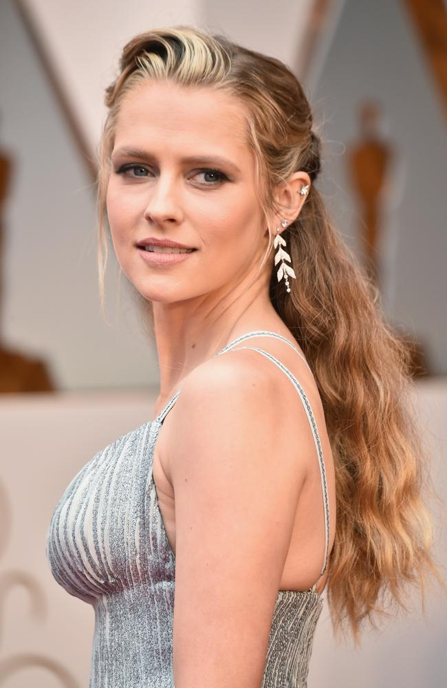 Teresa Palmer is at her first Academy Awards. Picture: Getty Images