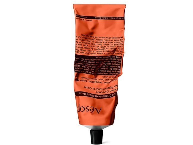 You can buy Aesop's Rind Concentrate Body Balm from Aesop stores, David Jones and Adore Beauty.