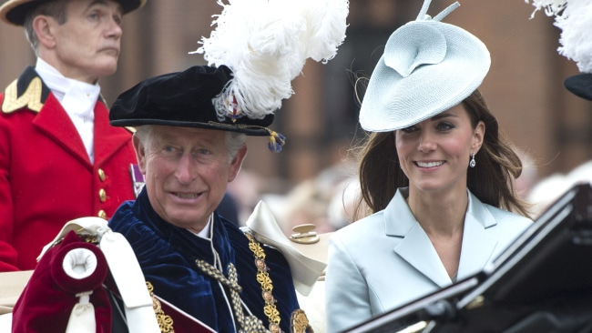 Kate and Charles at this year's Garter Day. (Photo by Arthur Edwards - WPA Pool /Getty Images)