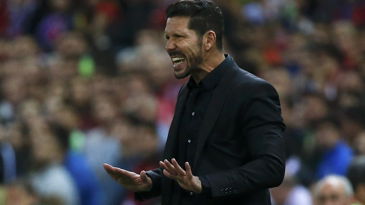 Diego Simeone's plans were ruined by the move. REUTERS/Andrea Comas