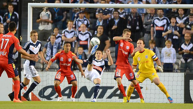 Melbourne Victory scores hard fought win over Adelaide ...