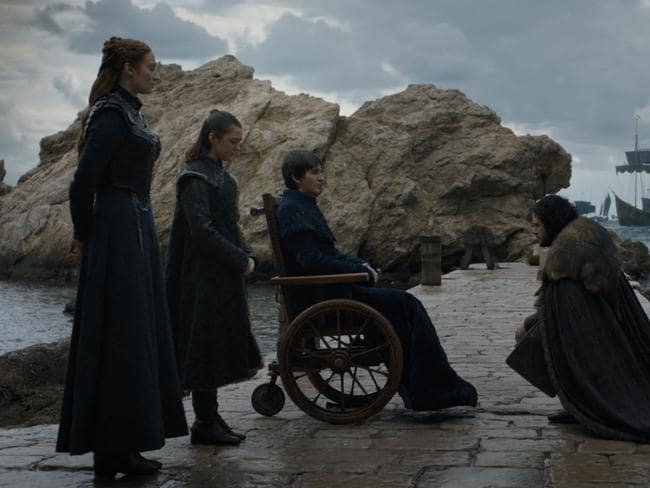 A scene from Season 8 Game of Thrones. Picture: HBO/ Supplied