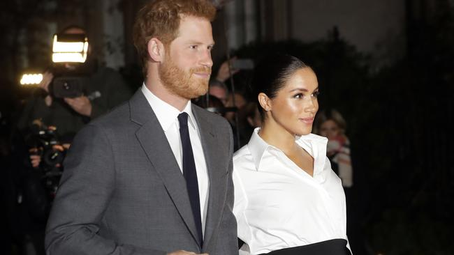 Harry and Meghan became parents on Monday. Picture: AFP/Kirsty Wigglesworth