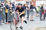 Action from the Schools Triathlon Challenge from Bellerive. Picture: Zak Simmonds