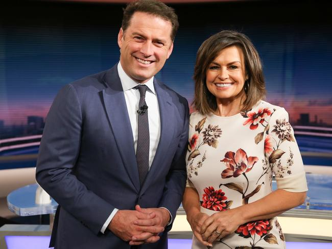 Stefanovic and Wilkinson appeared on Today for a decade together. Picture: Renee Nowytarger. The Australian