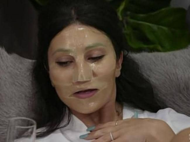 Martha was a dedicated mask lover during her time on MAFS. Picture: Channel 9