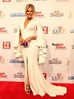 Sonia Kruger on the red carpet at the 2015 Logie Awards at Crown Casino in Melbourne. Picture: Julie Kiriacoudis