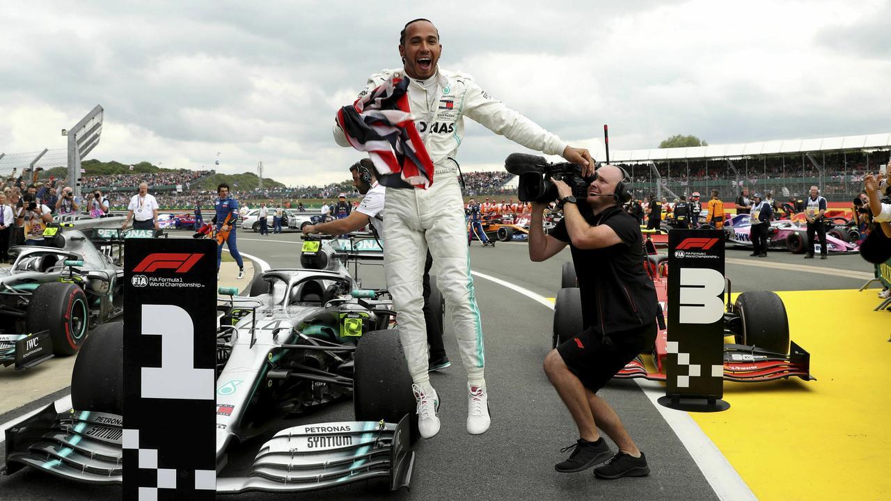 Lewis Hamilton is untouchable right now.