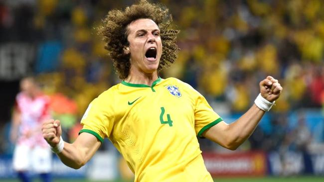 David Luiz will be in Melbourne.