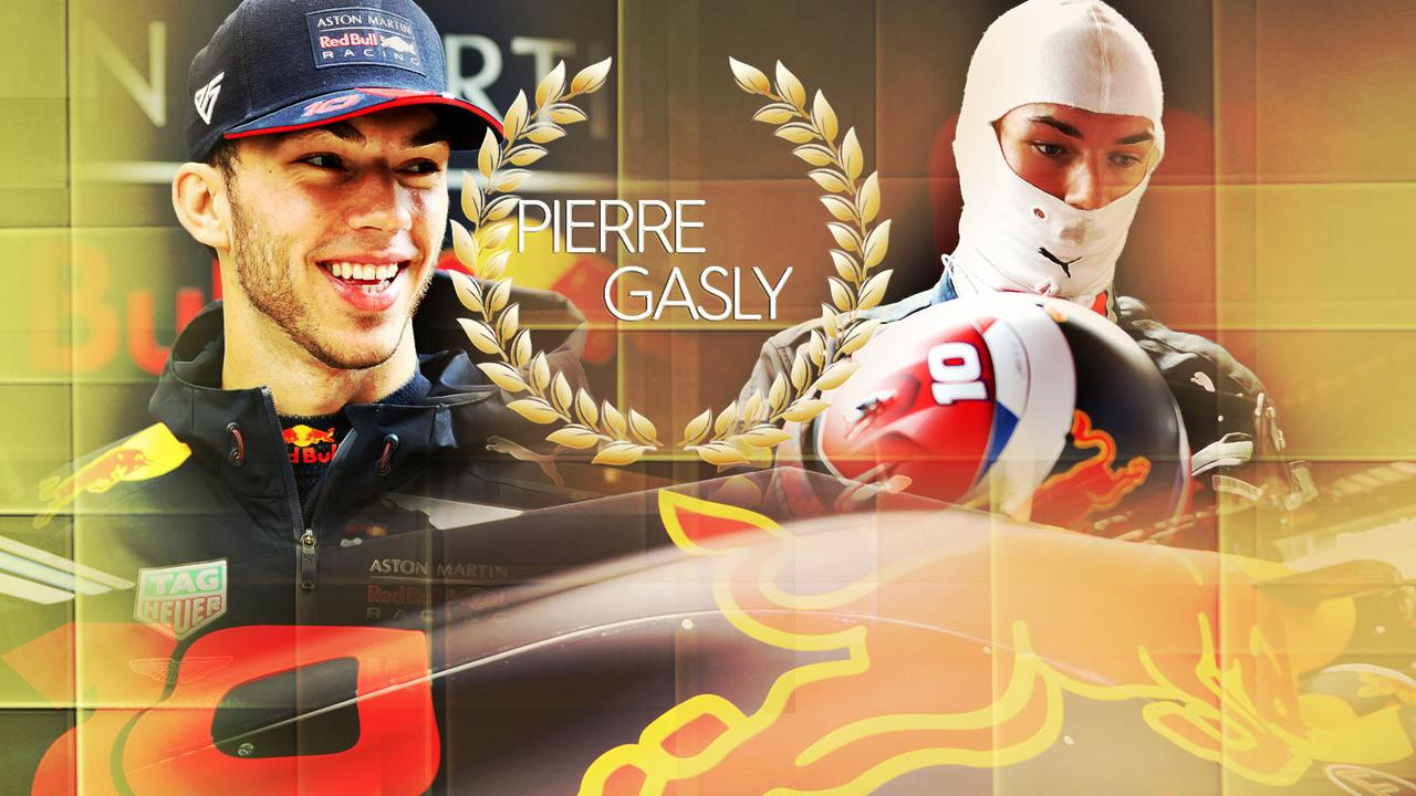 Pierre Gasly is embarking on only his second season in Formula 1.