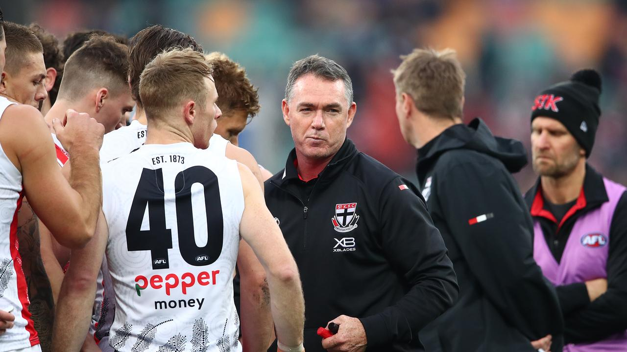 St Kilda hasn't played finals under Alan Richardson. Photo: Scott Barbour/Getty Images.