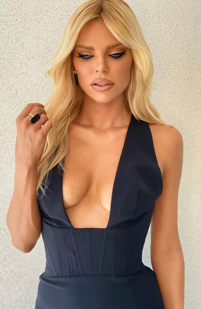 Sophie Monk's 'breast lift' cost $21.95 – but the product has earned the company millions of dollars in just 12 months. Picture: Instagram/Sophie Monk