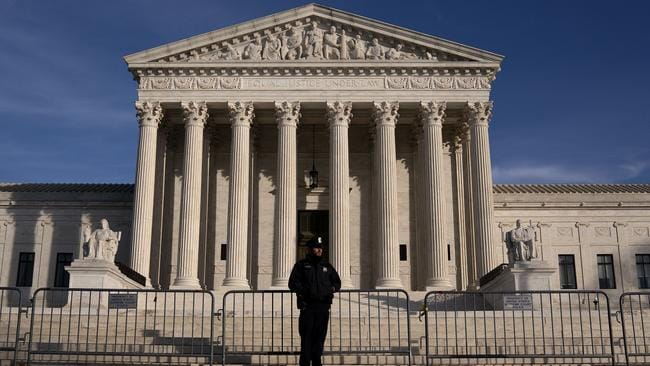 The US Supreme Court. Picture: Stefani Reynolds/Getty Images/AFP