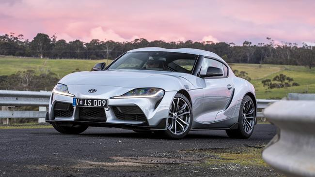 The Toyota Supra isn't the most expensive car in the range.