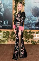 """Margot Robbbie attends the premiere of """"The Legend of Tarzan"""" on June 27, 2016 in Hollywood, California. Picture: Getty"""