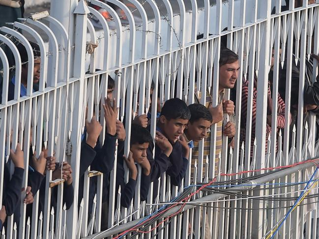 Most of the crowd in Rawalpindi Cricket Stadium has never witnessed Test cricket.