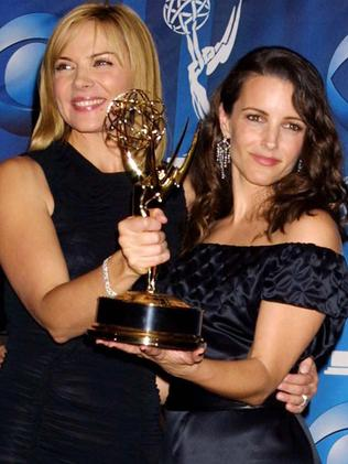 Kristin Davis is as close to and Kim Cattrall. Picture: Supplied