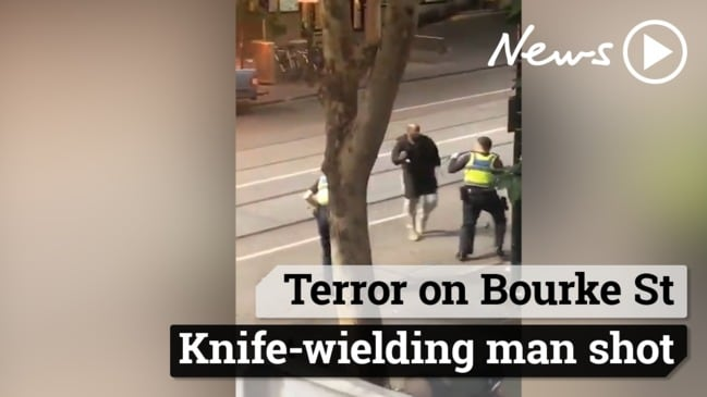 Terror on Bourke St