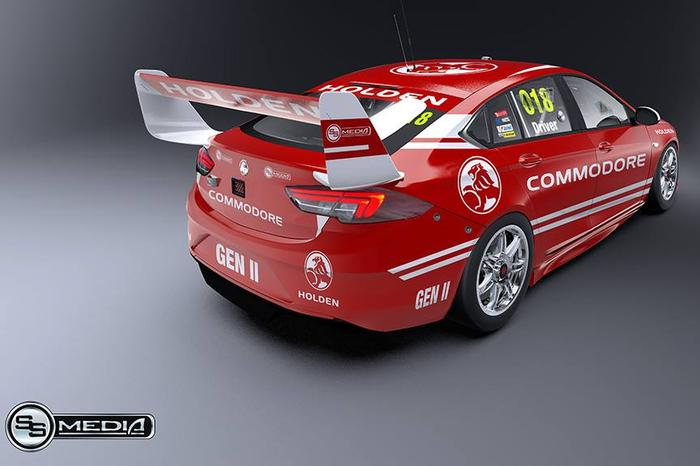 Supercars 2018 Holden Commodore May Look Like This In Gen2 Spec
