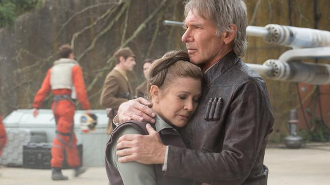 The Rise of Skywalker was supposed to 'Carrie's movie' in the same way The Force Awakens was Harrison Ford's.