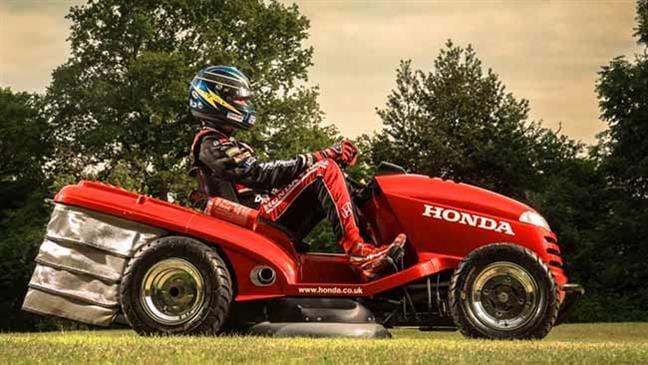 Honda builds 160kmh lawnmower