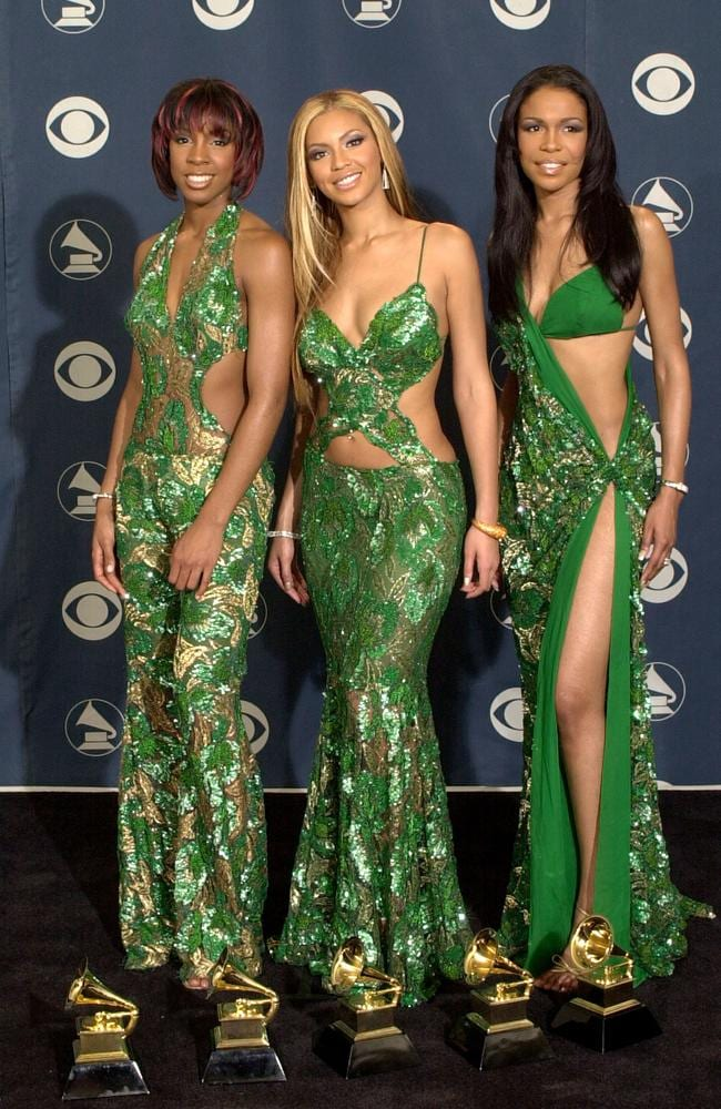 Destiny's Child outsourced their looks directly from a tree vine in 2001. Picture: David McNew/Newsmakers