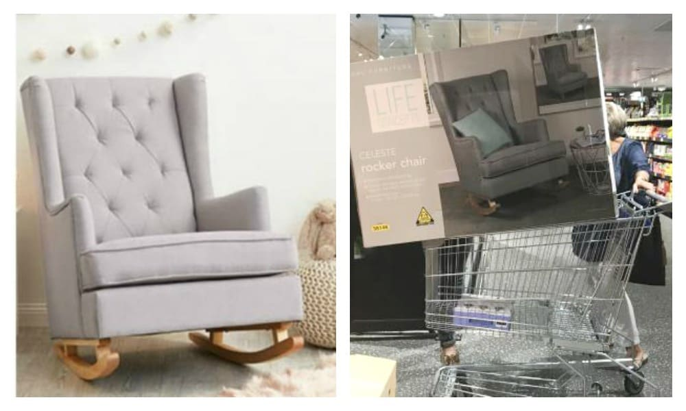 Awesome Aldis 199 Rocking Chair Sells Out In Just One Minute Kidspot Creativecarmelina Interior Chair Design Creativecarmelinacom