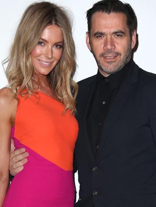 Jennifer Hawkins and Roland Mouret. Picture: Supplied