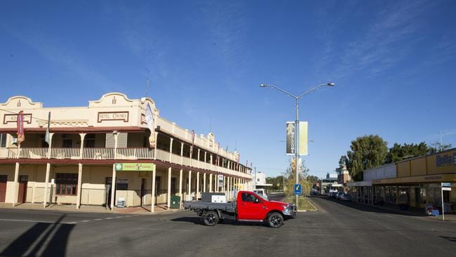 Charleville plans 150th anniversary for incorrect date. Picture: Lachie Millard