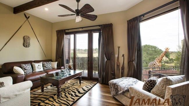A Giraffe Treehouse room. Photo: Supplied
