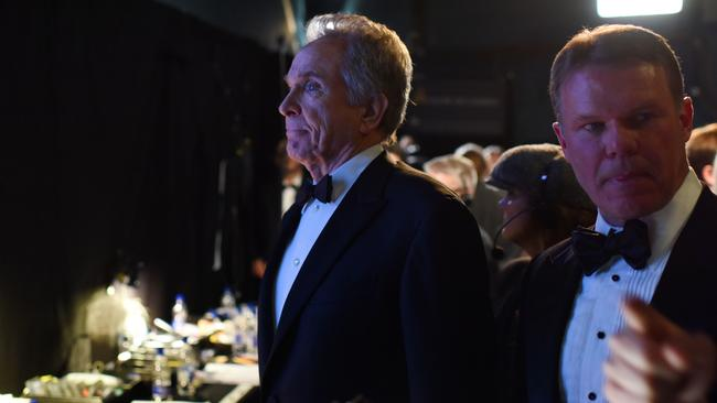 Warren Beatty, about to unknowingly walk into the biggest mistake in Oscar history. Picture: Rex Features / Splash News