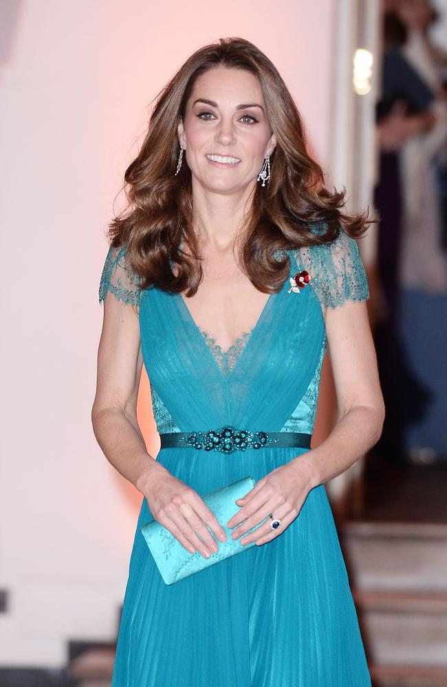 Catherine, Duchess of Cambridge attends The Tusk Conservation Awards at Banqueting House on November 08, 2018.