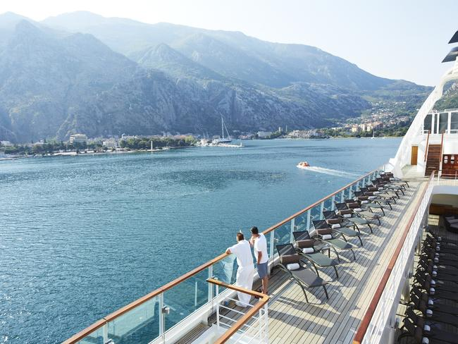 Seabourn Sojourn in the Mediterranean. Picture: Supplied