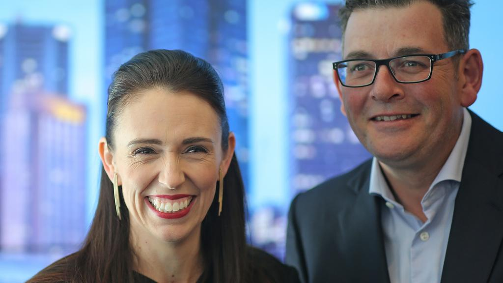 Image result for dan andrews jacinda ardern
