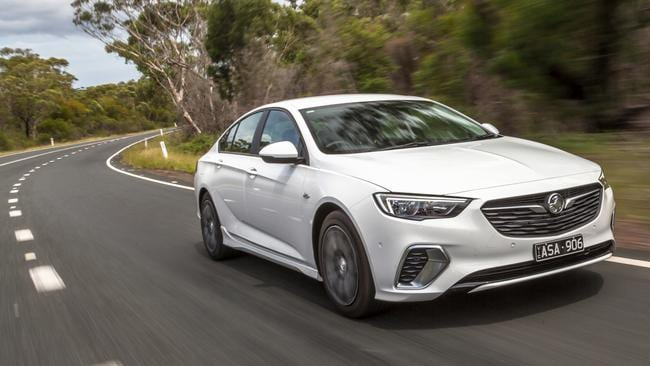The German Holden Commodore is off to a slow sales start. Picture: Thomas Wielecki.
