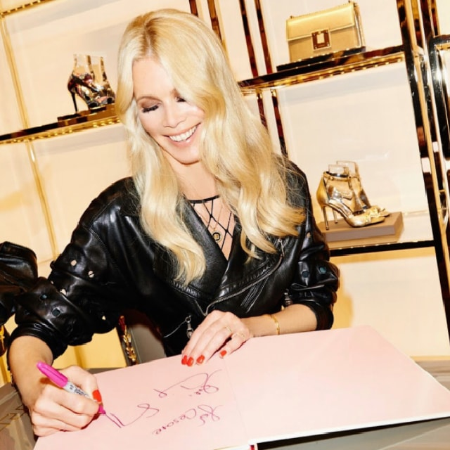 Claudia Schiffer tells us what's in her suitcase