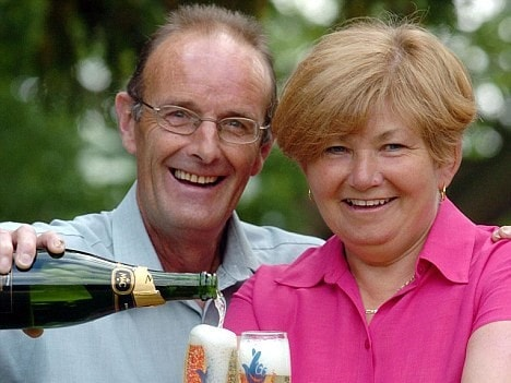 Keith Gough won $14 million in 2005 and thought he and wife Louise were set. But he died five years later, penniless and alone.