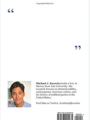 Michael J Knowles' blank book is a bestseller on Amazon.
