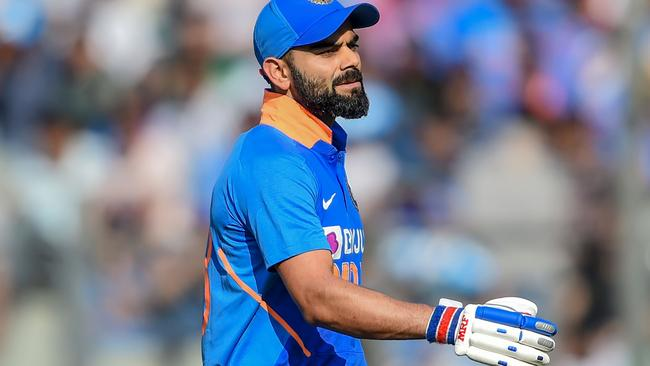 Virat Kohli praised Zampa's quality before falling to him for a fourth time in seven innings.