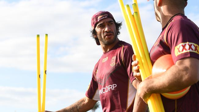 Johnathan Thurston's return to Origin should be seamless.