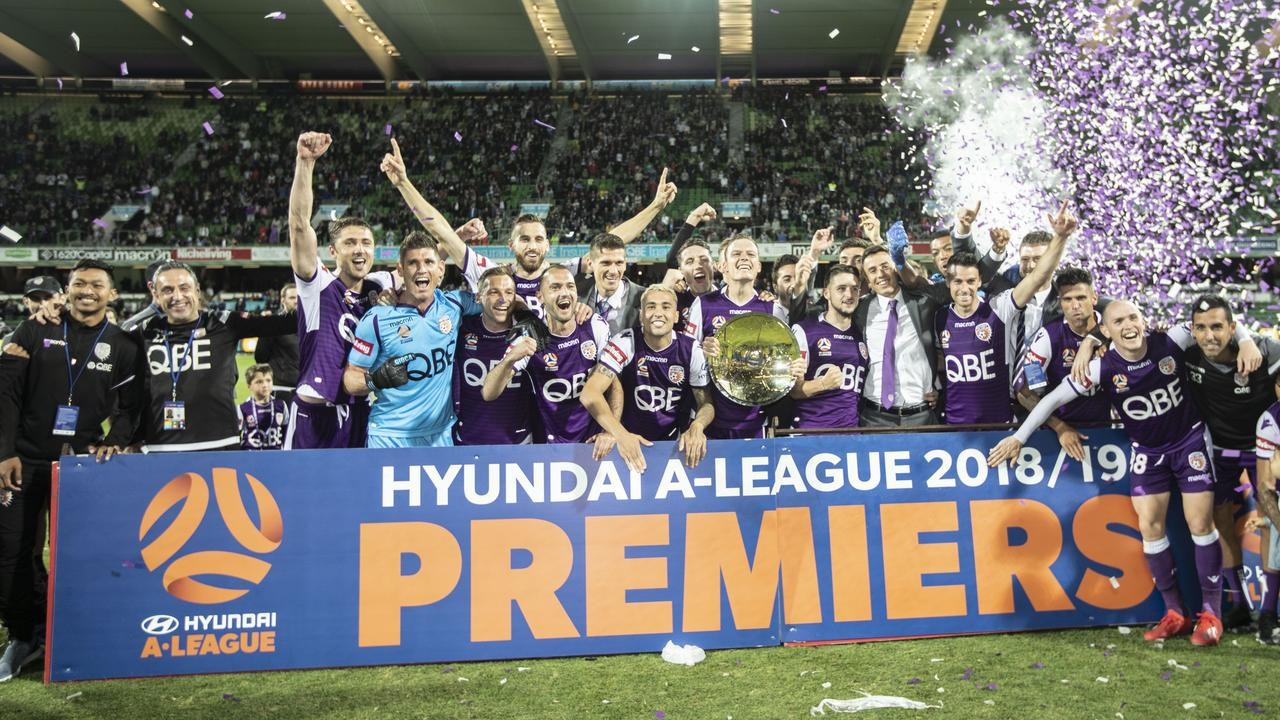 The A-League is set to lose its naming-rights sponsor.