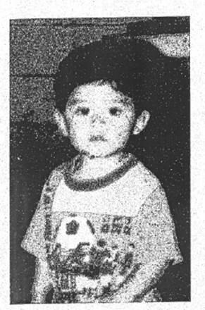 In this undated photo released by the San Bernardino County District Attorney's Office shows a family photo of Steve Hernandez, pictured in the only photograph Maria Mancia had of her kidnapped son for the last 20 years. Steve Hernandez was abducted by his father Valentin Hernandez from their Rancho Cucamonga residence in 1995 when he was 18-months-old. Since that time, 42-year-old Maria Mancia had searched for her son to no avail. The boy, Steve Hernandez, now a man of about 22, has been found in Mexico. On Thursday he was brought to the U.S. to meet his mother.Authorities interviewed the boy and took a DNA swab. The facts of his life, and the DNA, matched. (San Bernardino County District Attorney's Office via AP)