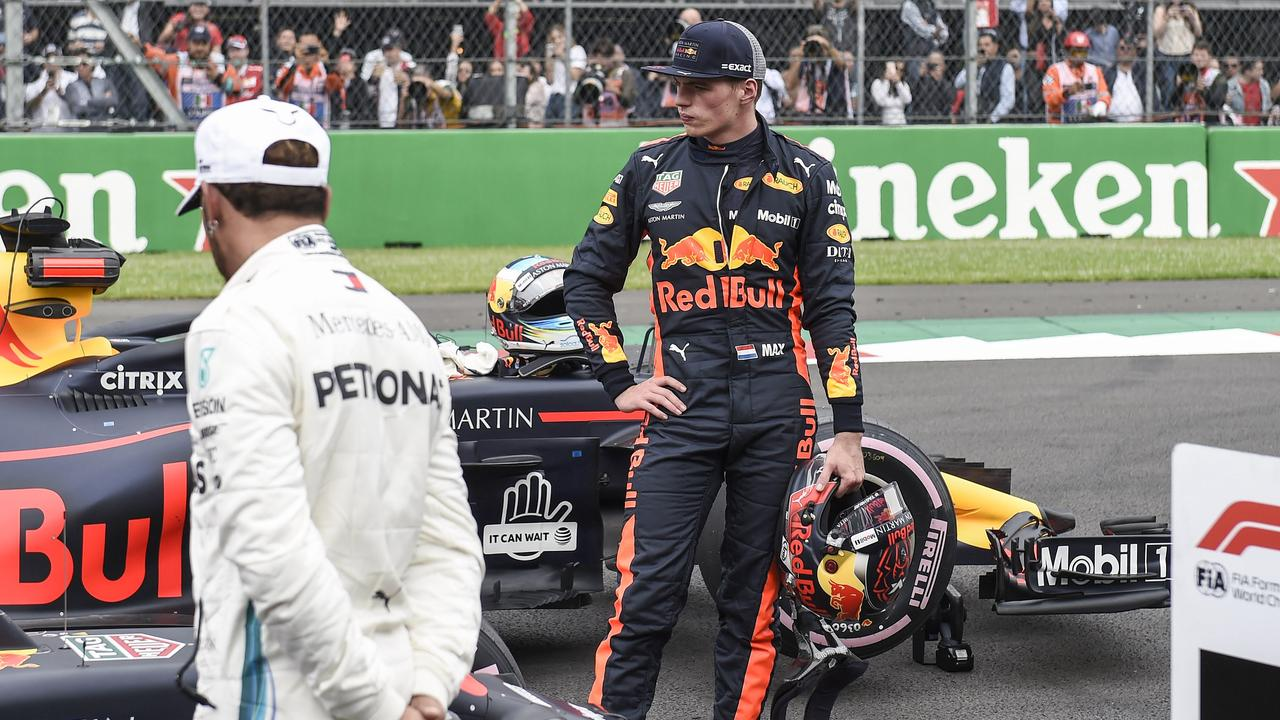 Max Verstappen sees Mercedes' car as superior to the rest of the grid.